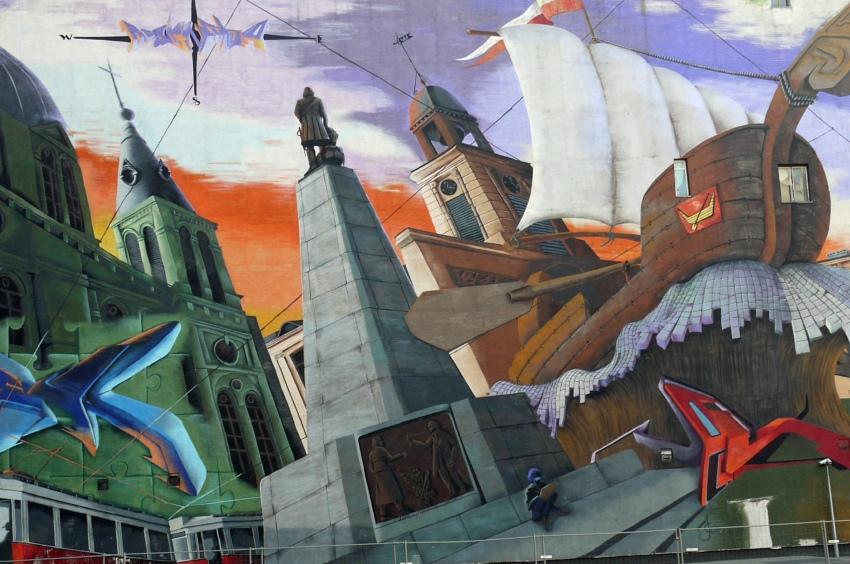 Mural Piotrkowska 152