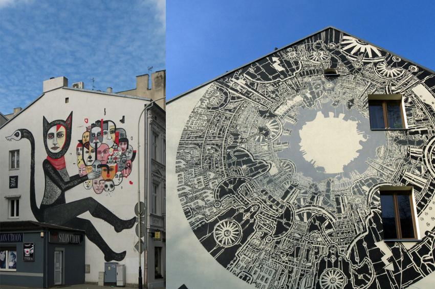 Łódź murale