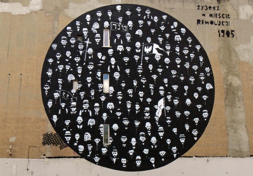 Mural rewolucji 1905 r.