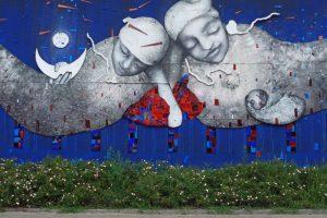 Wycieczka szlakiem łódzkich murali. Cz. 1