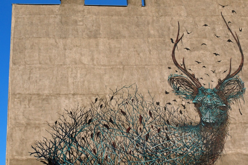murale łódzkie