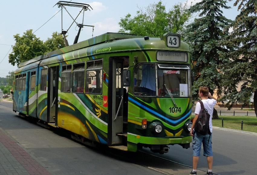 Tramwaj podmiejski w Lutomiersku