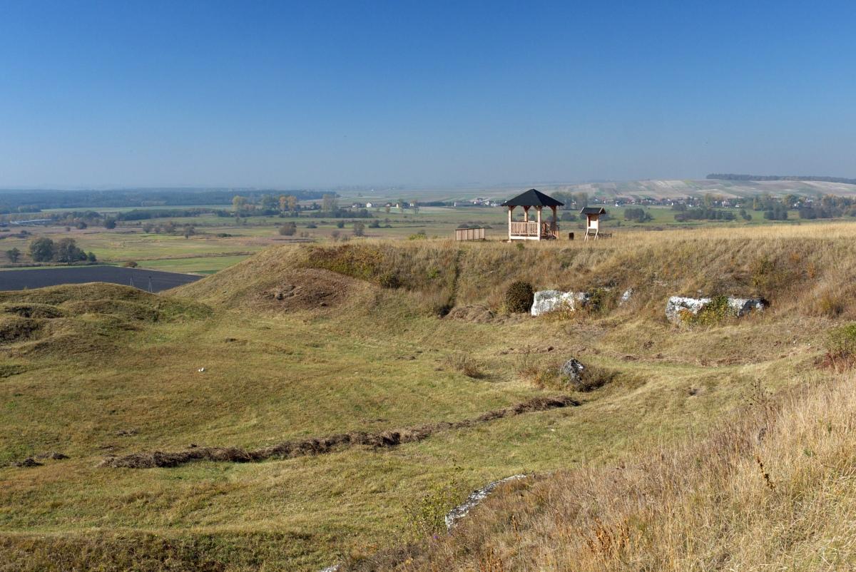 Okrąglica i rezerwat Skowronno