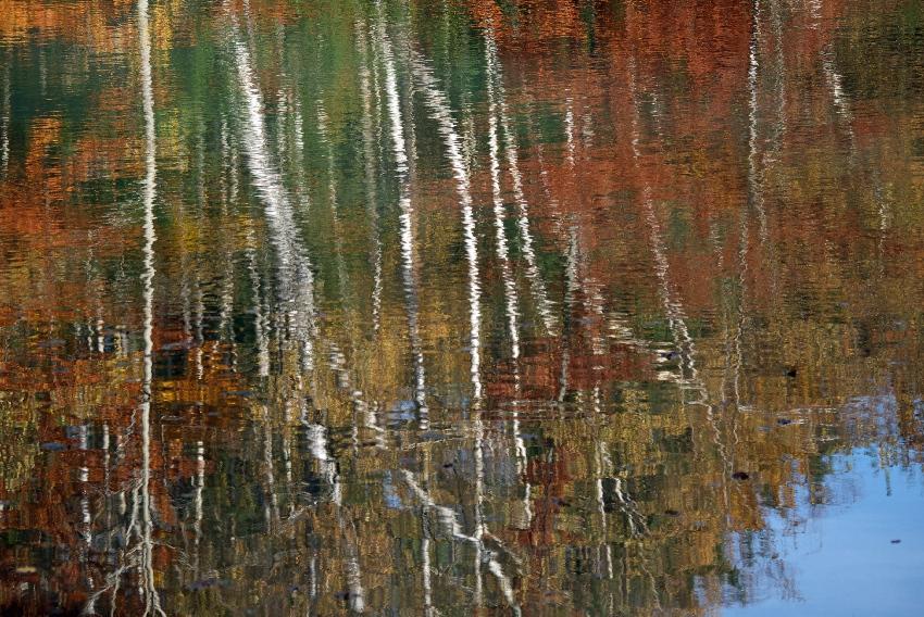 Kolorowe Jeziorka Jesienne fotografowanie
