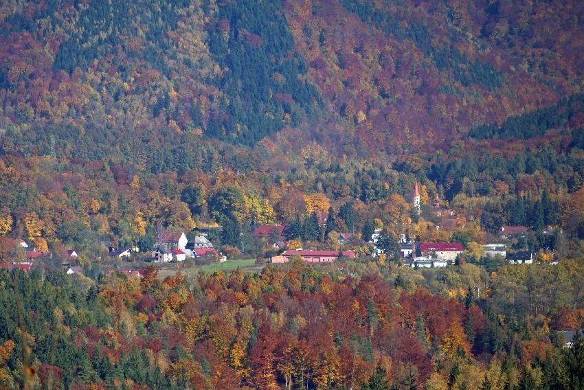 Jesień Rudawy Janowickie
