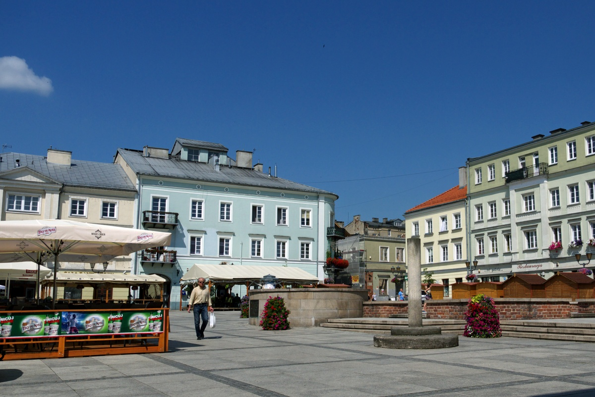 Rynek w Piotrkowie Trybunalskim