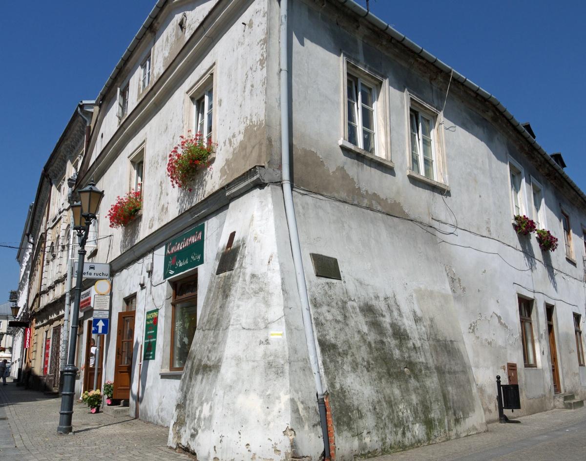 Piotrków Trybunalski. Kamienica na Starym Mieście