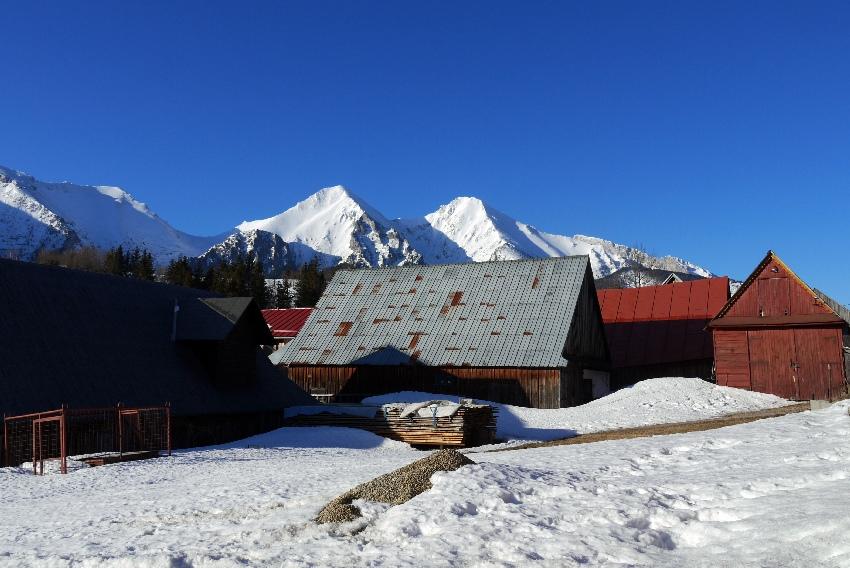 Na nartach w Tatrach