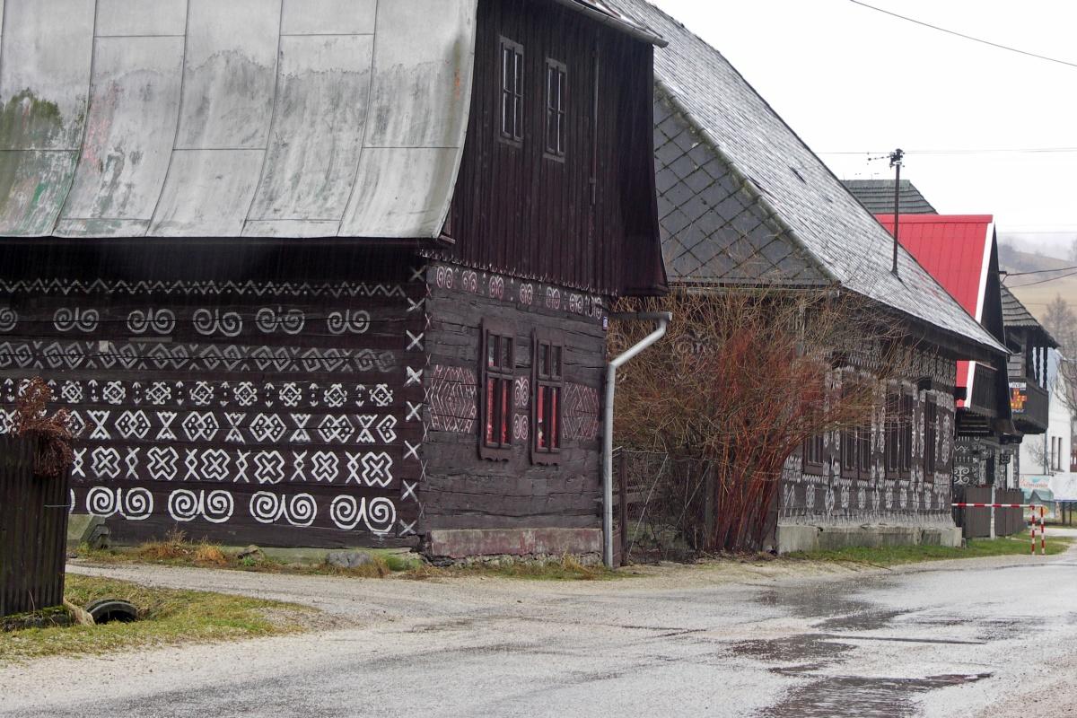 Wioski skanseny na Słowacji