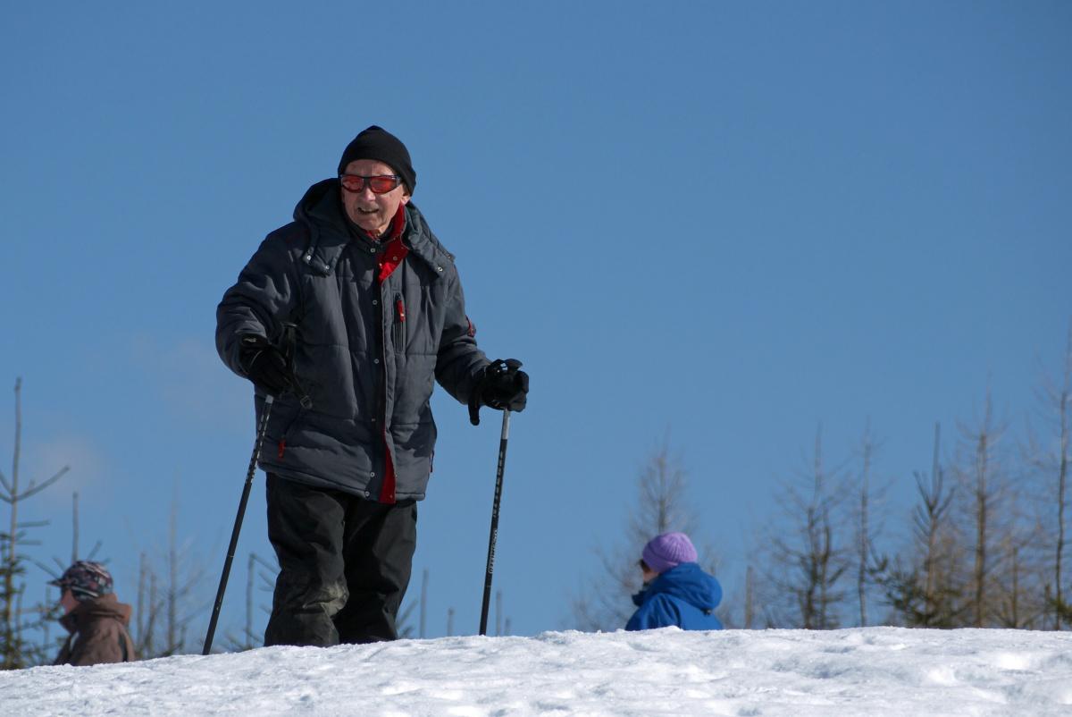 Na nartach z tatą