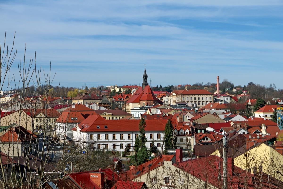 Bochnia - panorama