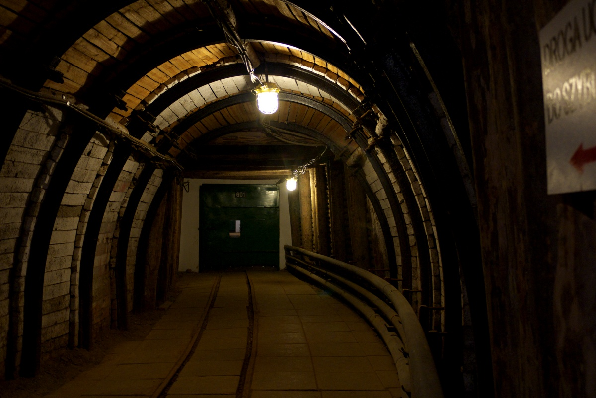 korytarze kopalnia Bochnia