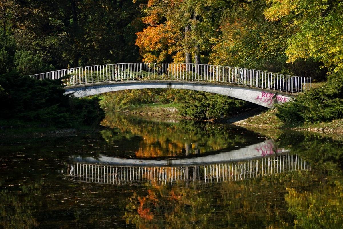 parki w Łodzi - park poniatowskiego