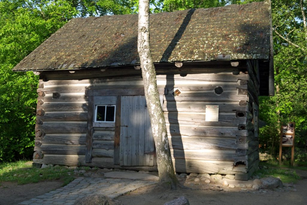Szymbark - dom Trapera