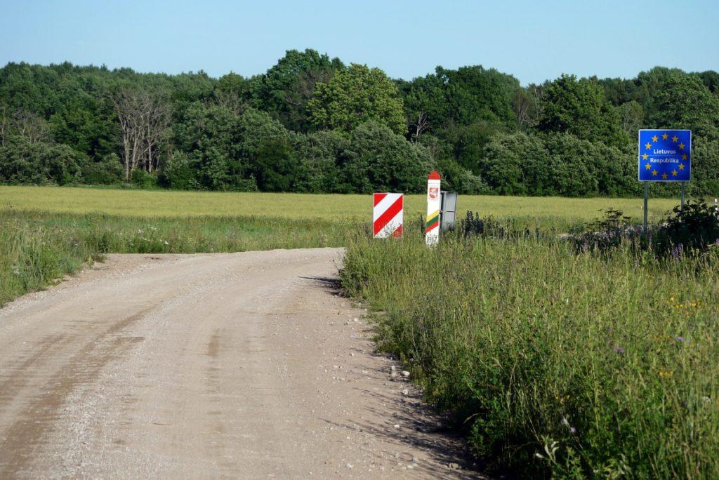 granica Litwa-Łotwa