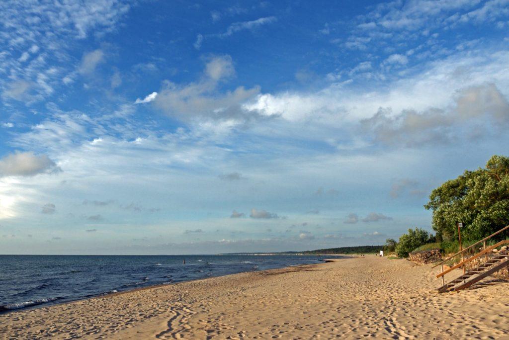 Pavilosta plaża