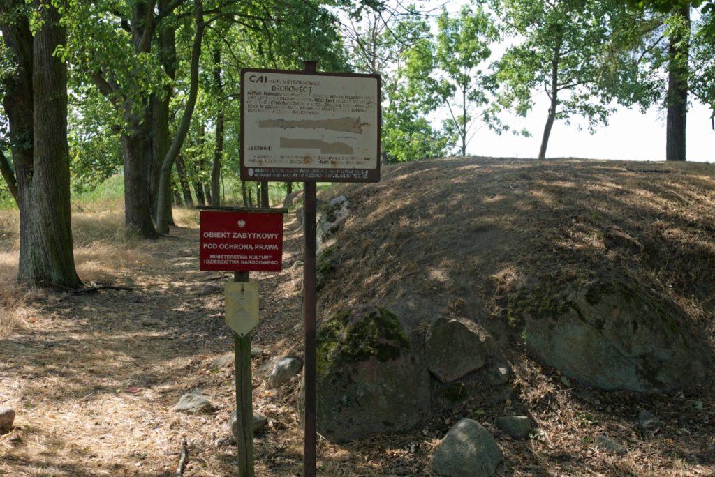 Grobowiec w Gaju. Megality w Polsce
