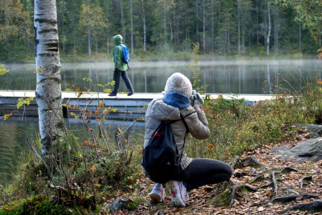 Zwiedzanie Oslo i okolic. Jezioro Tywann