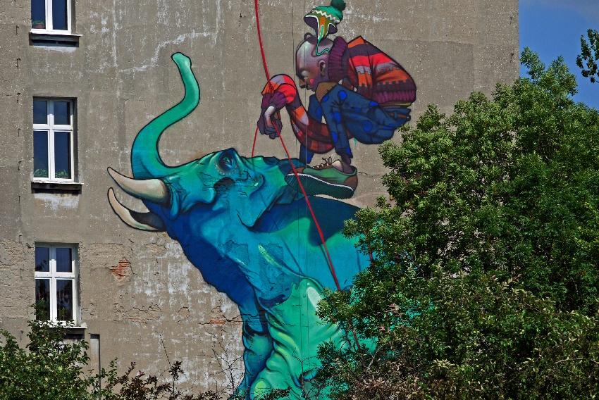 grafitti Łódź