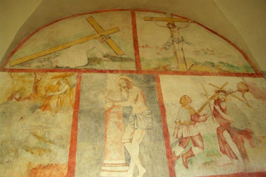 freski w Czerwińsku