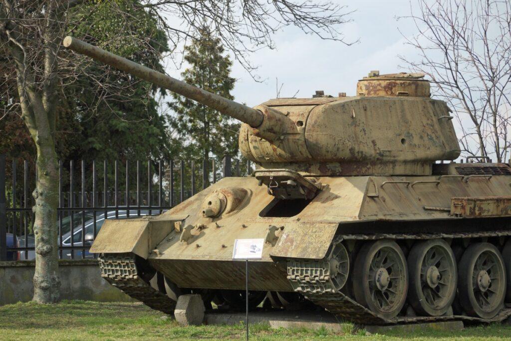 muzeum czołg t-34