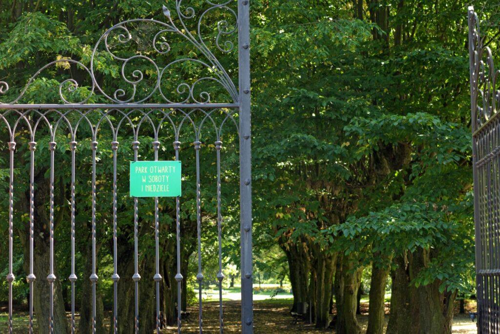 park w Sobocie