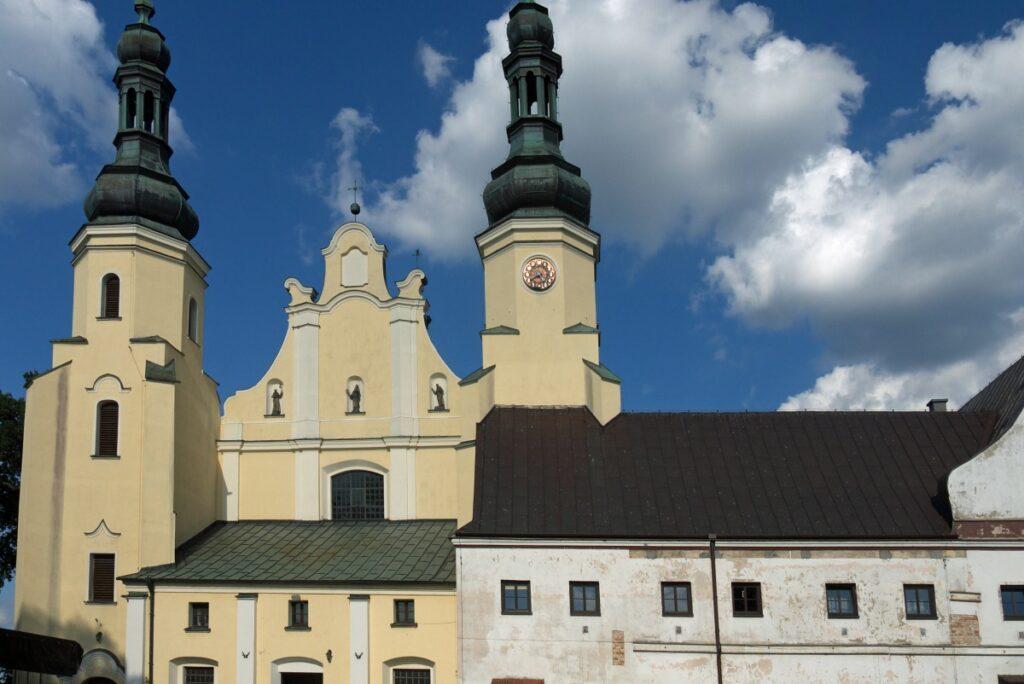 Kościół i klasztor Bernardynów w Warcie