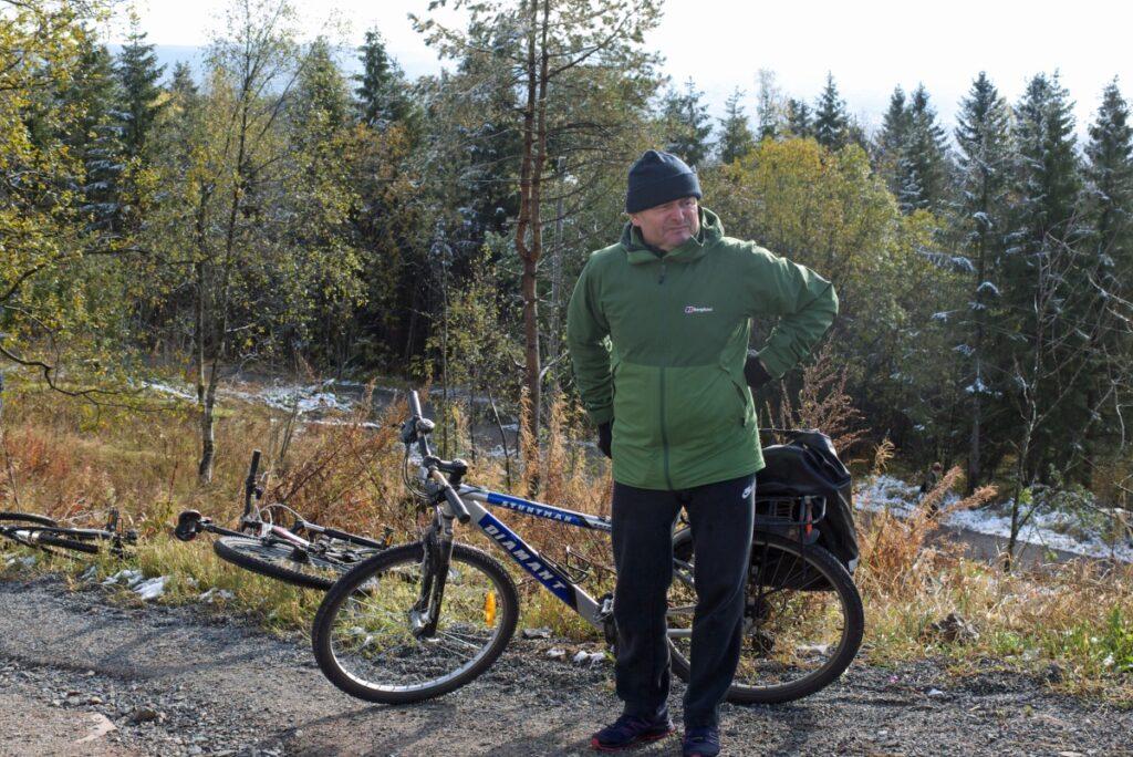 Okolice Oslo na rowerze