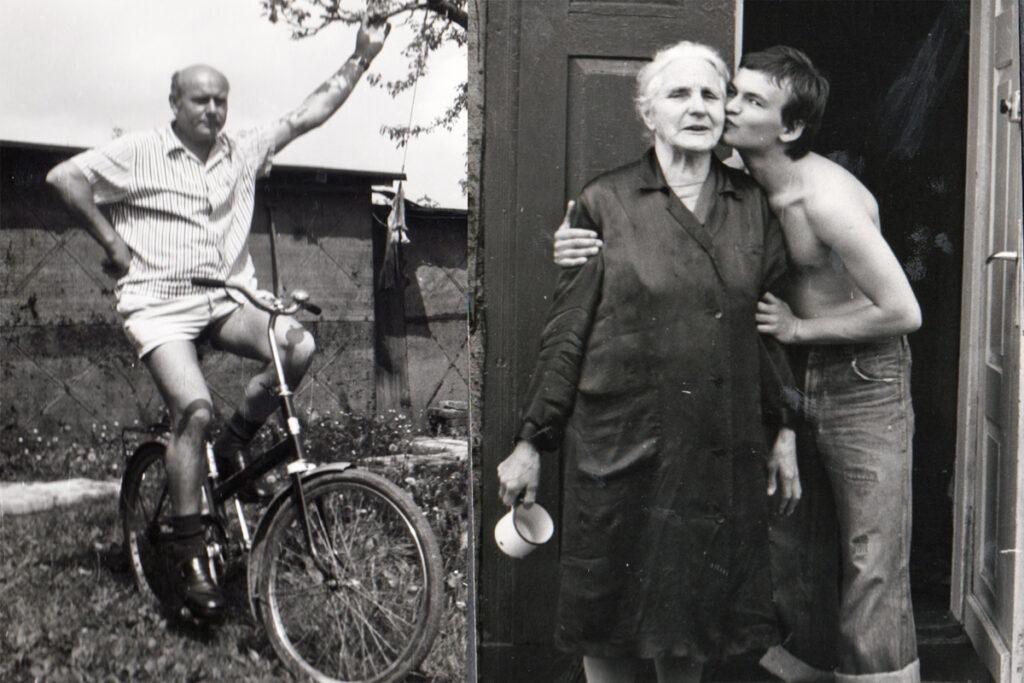 ojciec i babcia Andrzeja