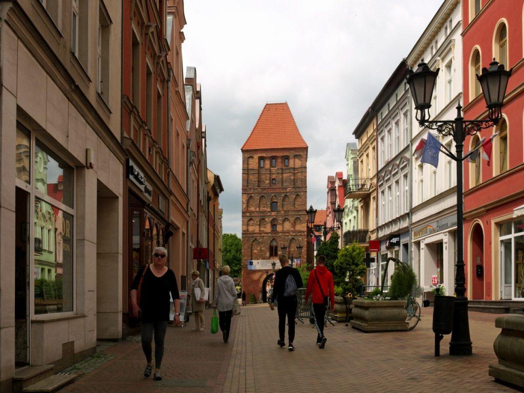 Chojnice - stare miasto