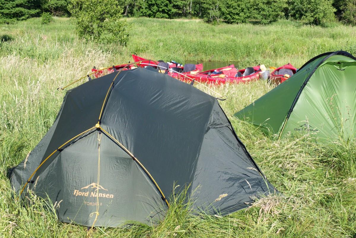 Jaki namiot na kajak?