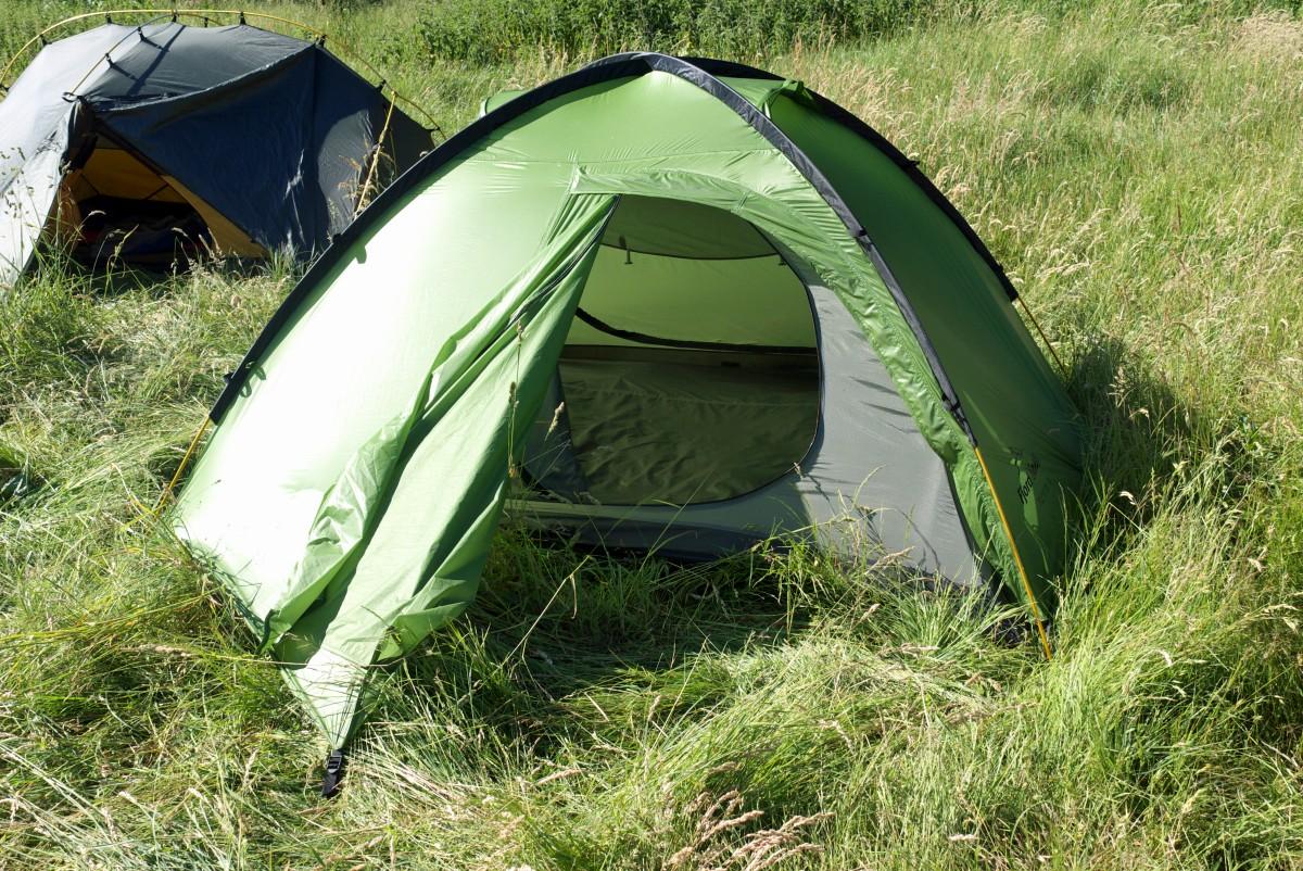 namioty na spływie