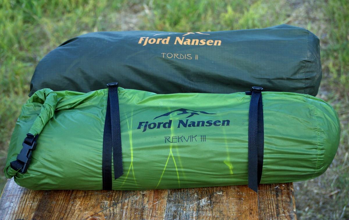 jaki namiot na kajak - dwa namioty Fjord Nansen